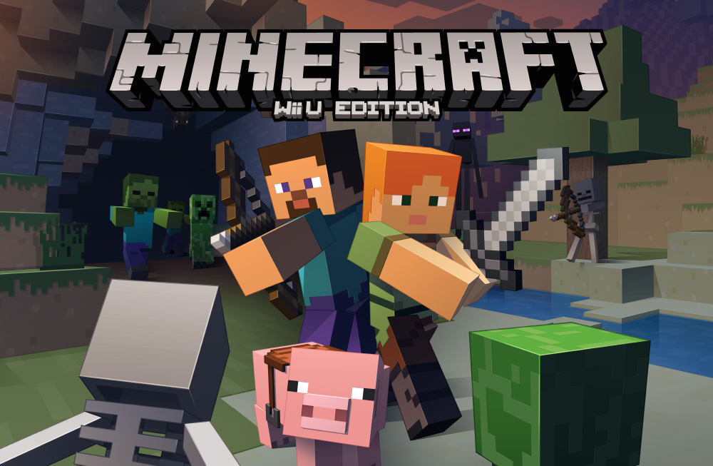 Minecraft is coming to the Wii U next week