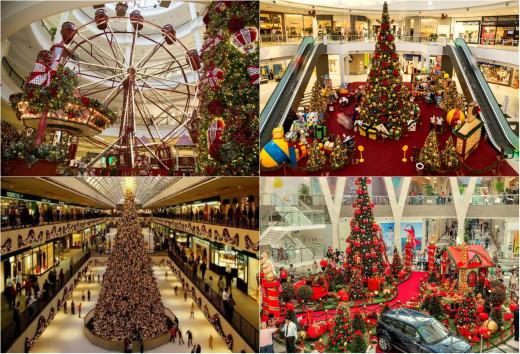 christmas mall decoration - Mall Of America Christmas Decorations