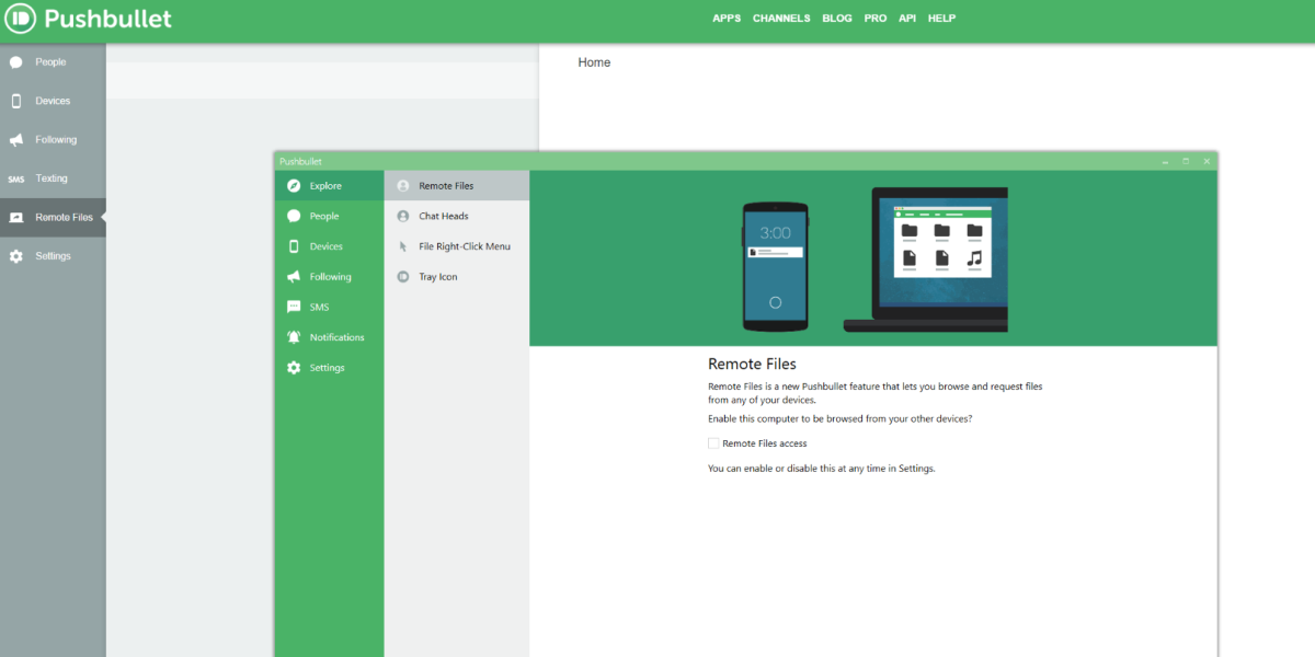 Pushbullet's handy new feature lets you browse and request files from any of your devices