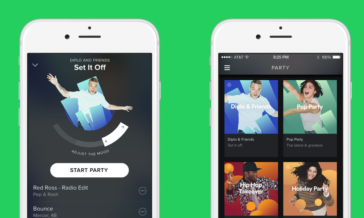 Spotify's new feature will DJ your next party for you