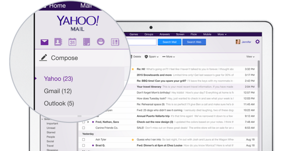 Yahoo Mail now lets you access your Gmail too, but there's only one reason why you might