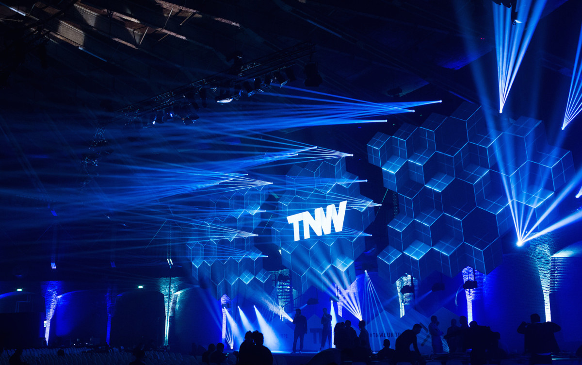 TNW Confere Europe 2015 Stage
