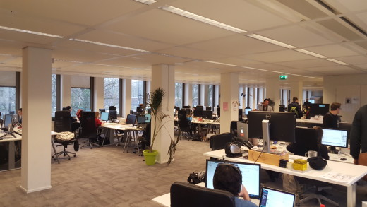 TNW Amsterdam office