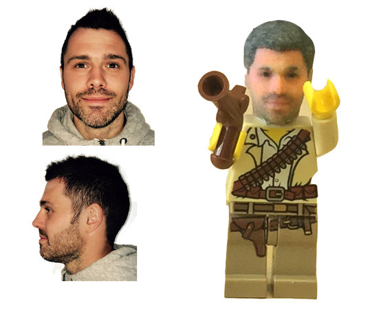 You Can Now Stick Your Dprinted Head On A Lego Minifigure - Thanks to 3d printing you can now print a lego head of yourself