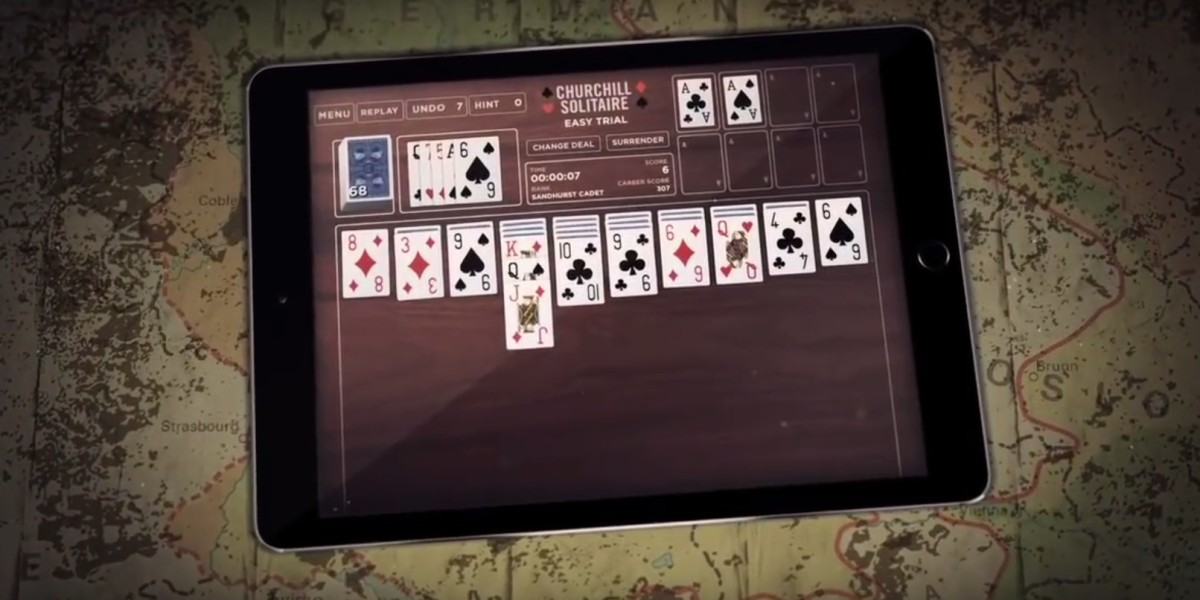 Former Defense Secretary Rumsfeld made an iOS card game without touching a line of code