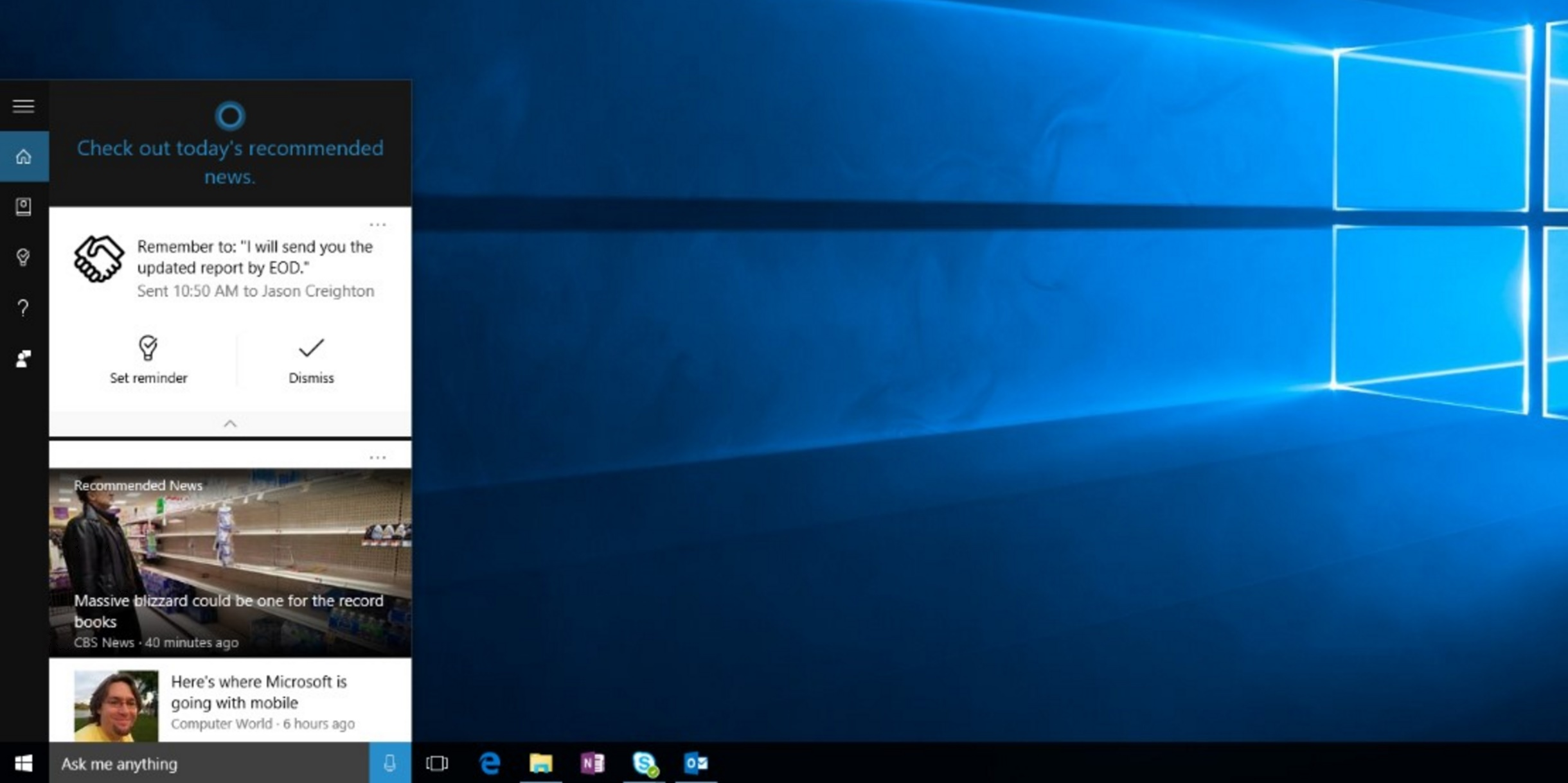 Cortana's newest feature will make you slightly less of an unreliable flake