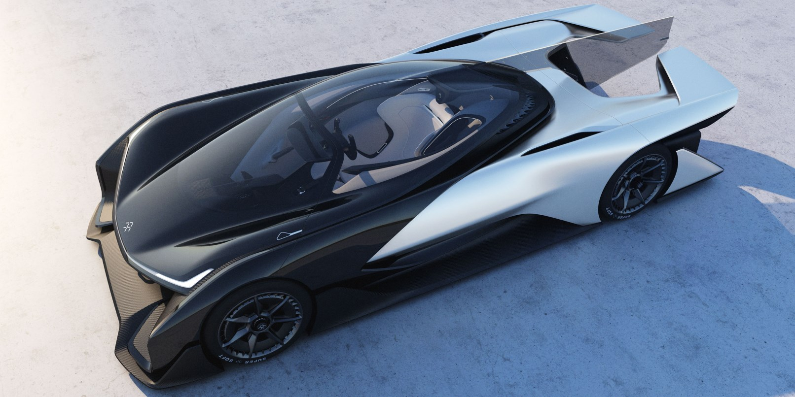Faraday Future debuts its stunning FFZero1 electric car concept