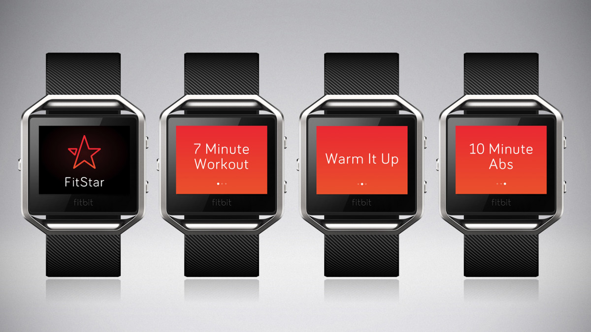 FitStar guides you through your workouts