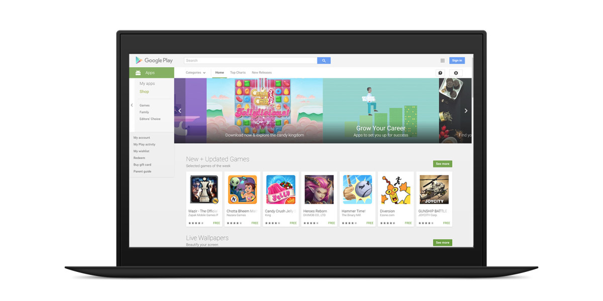 Lenovo chief says Google Play will return to China this year