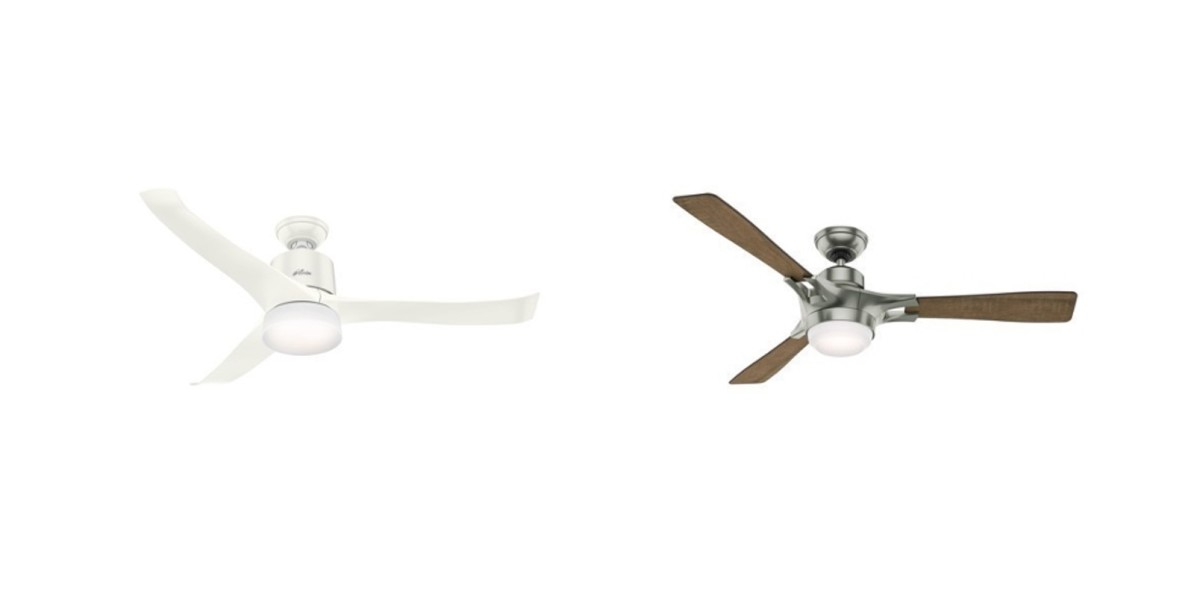 Hunter's new ceiling fans use Wi-Fi and Apple's HomeKit to make your home smarter
