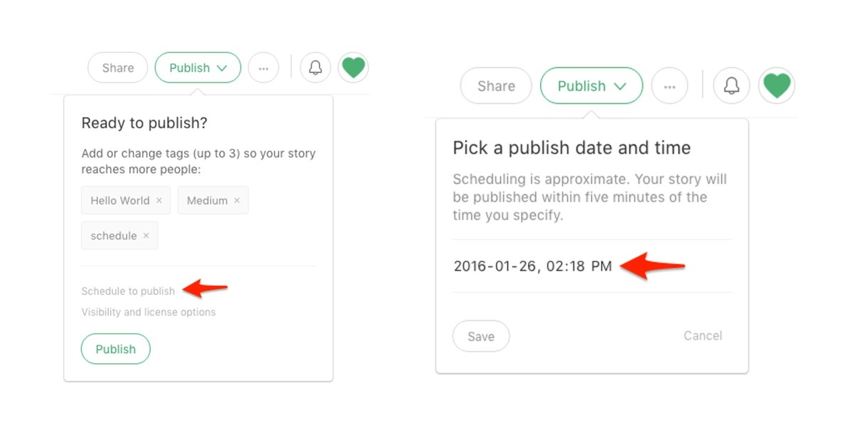 Medium adds post scheduling and Twitter integration to help publications