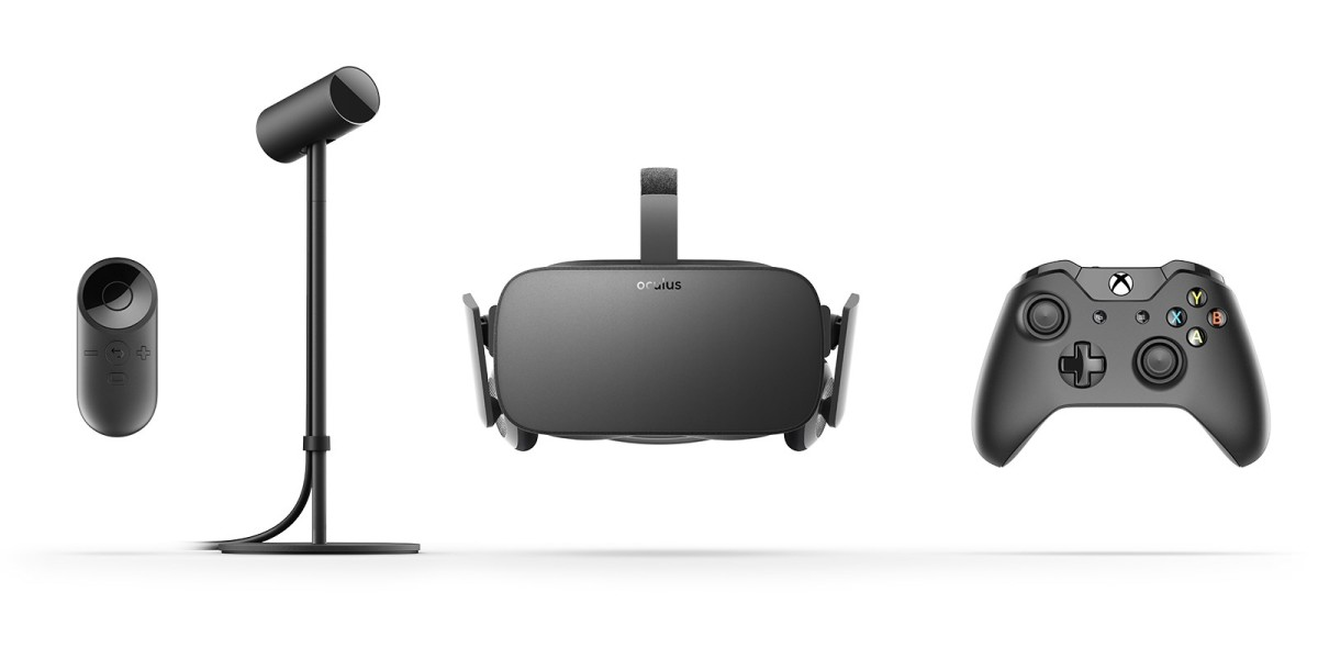 The $599 Oculus Rift will ship with some neat accessories in March