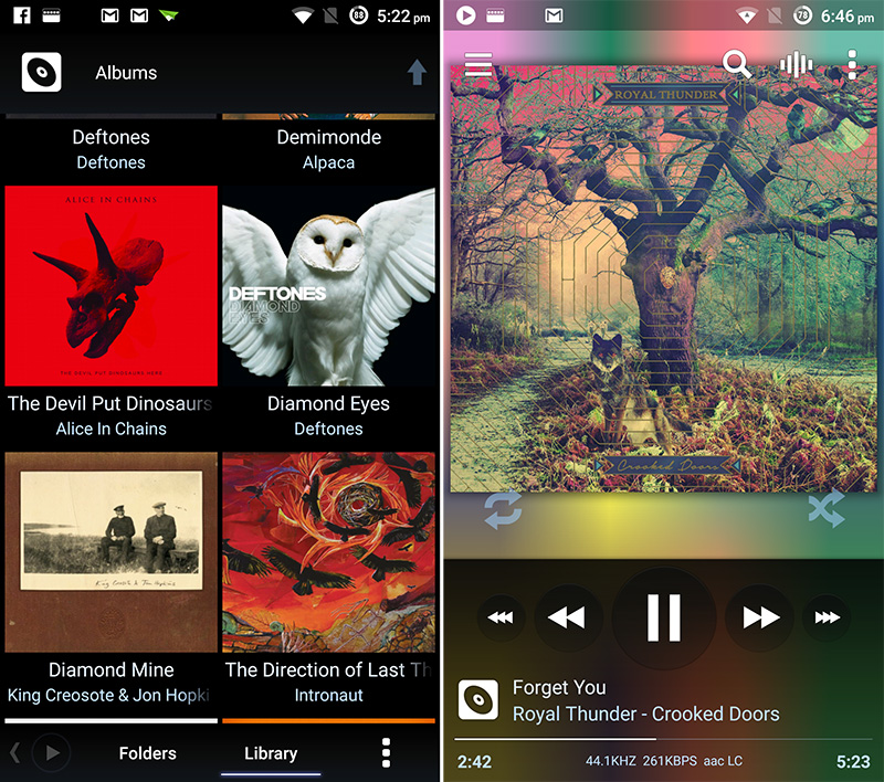 Poweramp for Android brings new features for audiophiles
