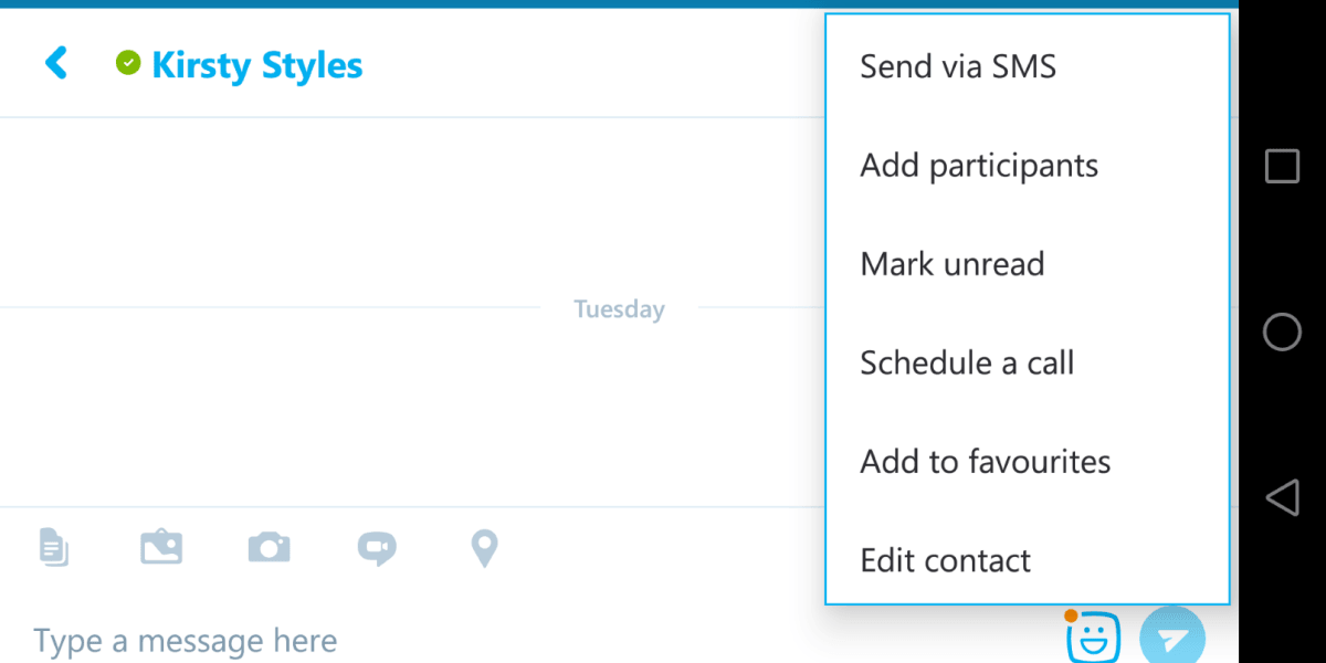 Skype's call scheduling feature is now available to use on Android