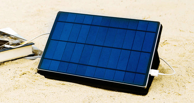 Charge green and save big with the Solartab 13,000mAh battery pack