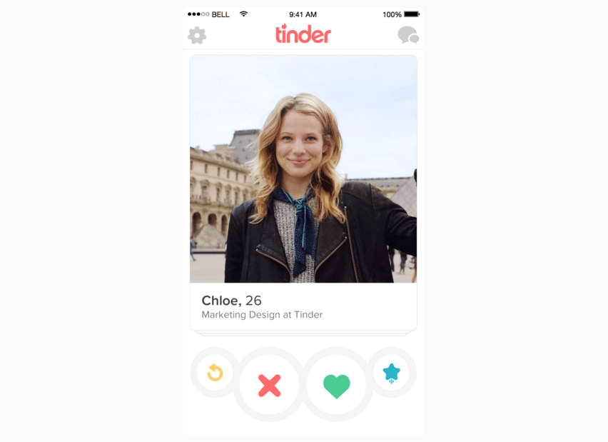 What sound does tinder make