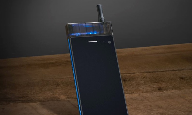 Yup, you can smoke this 4G smartphone