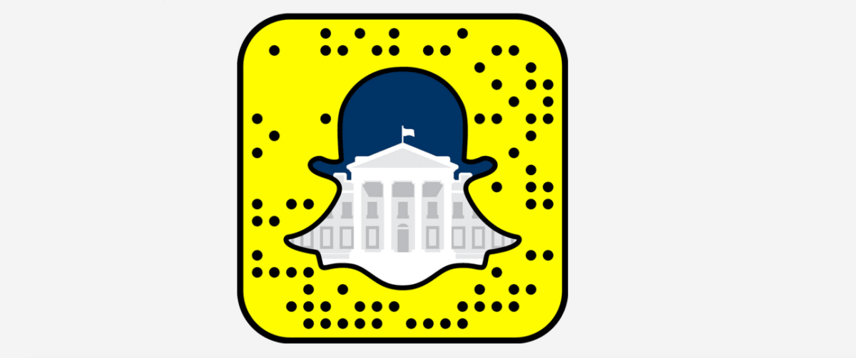 The White House is now on Snapchat