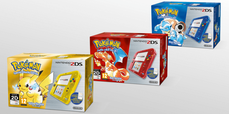 Pokémon kicks off 20th anniversary with special edition Nintendo 2DS bundles