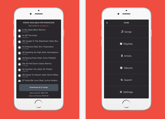 Jukebox is a free way to turn your Dropbox into a music player