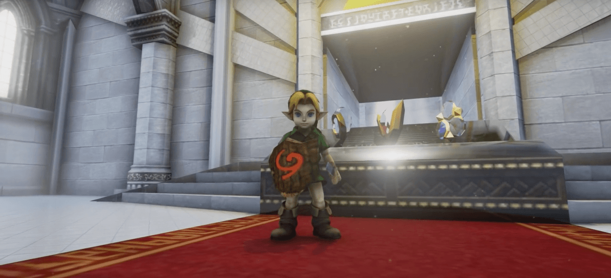 YouTuber gives 'Zelda: Ocarina of Time' a next-gen look using Unreal Engine 4