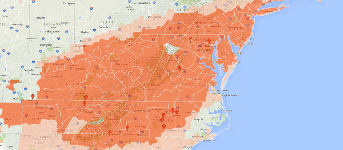 Google.org's crisis map will tell you everything you need to know about winter storm Jonas