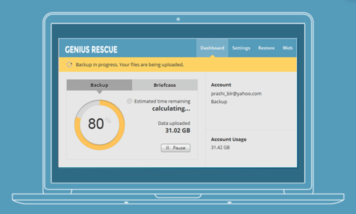 Don't wait until the data crash: Get Genius Rescue 2TB cloud backup – lifetime subscription