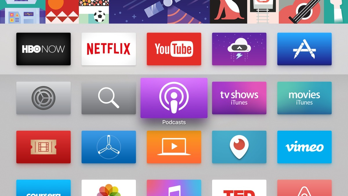 Apple TV officially has that podcasting app you probably