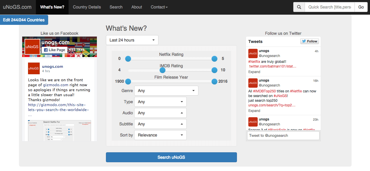 This tool helps you search the entire global Netflix library