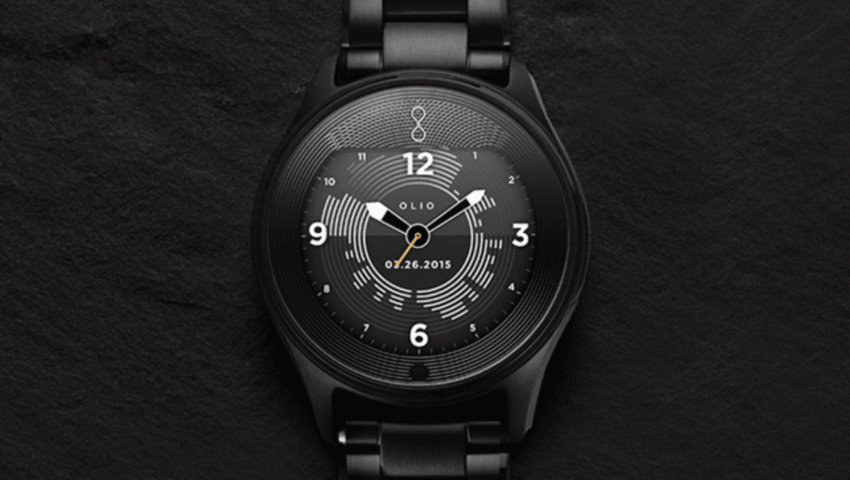 Win an Olio Model One luxury smartwatch