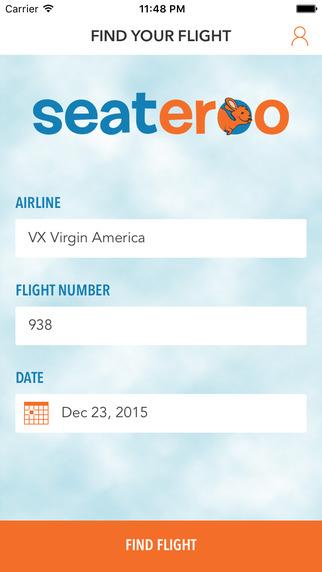 Seateroo flight info