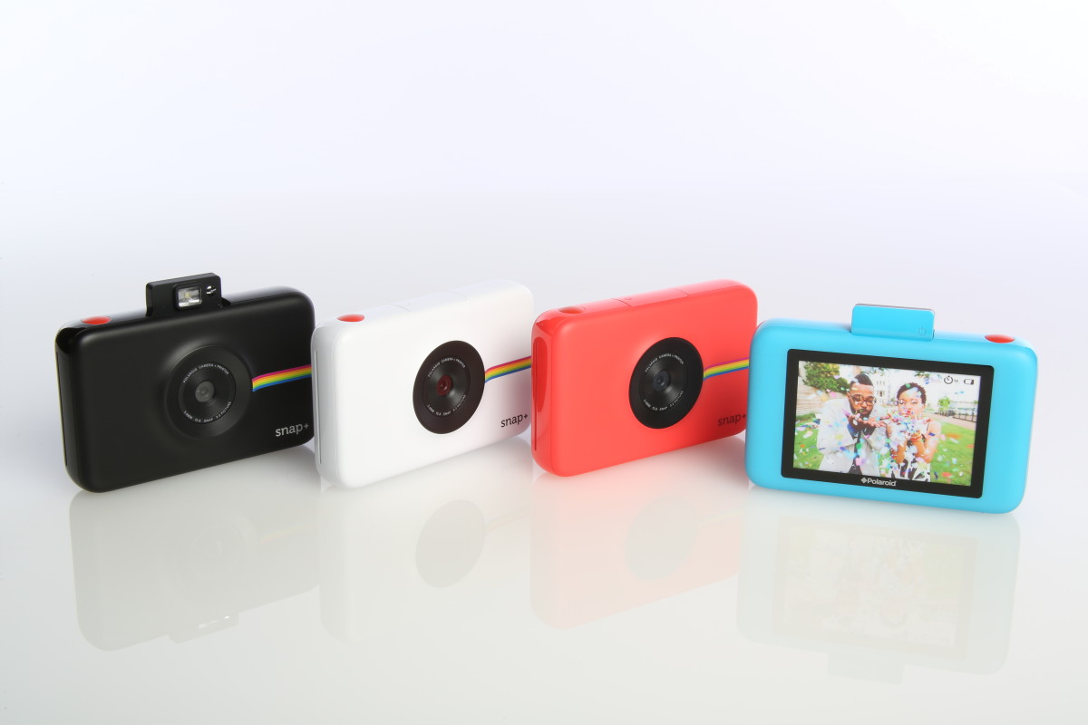Polaroid unveils the Snap+ instant camera with HD video recording