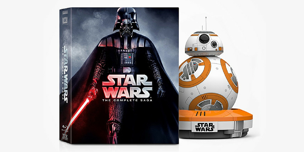 The ultimate Star Wars giveaway: Win a BB-8 Droid and Star Wars: The Complete Saga on Blu-ray
