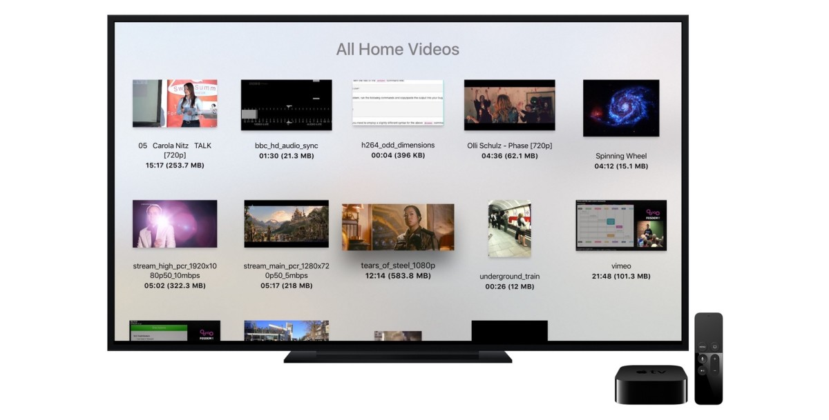 Apple TV now has VLC for playing locally stored video files