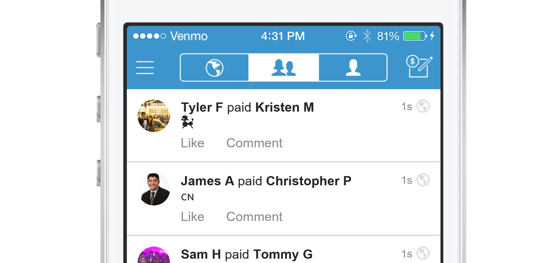 Venmo crosses $1B monthly transfers for the first time