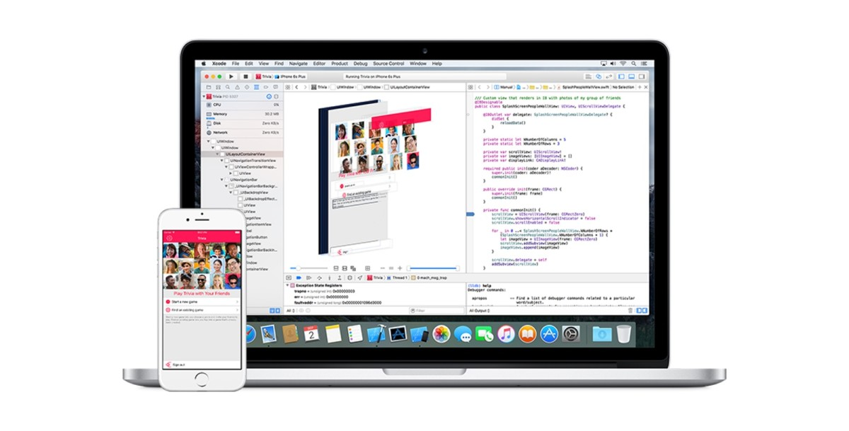 Xcode 7.3 beta has better code completion and support for alternative Swift toolchains