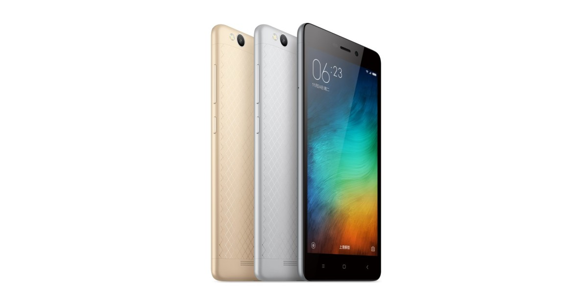 Xiaomi's Redmi 3 offers a massive 4,100mAh battery and all-metal body for just $107