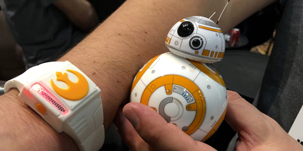 Sphero's updated BB-8 can be controlled by a 'force'-enabled wristband