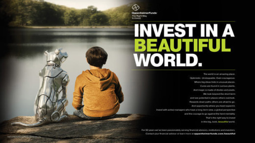 invest in a beautiful world oppenheimerfunds