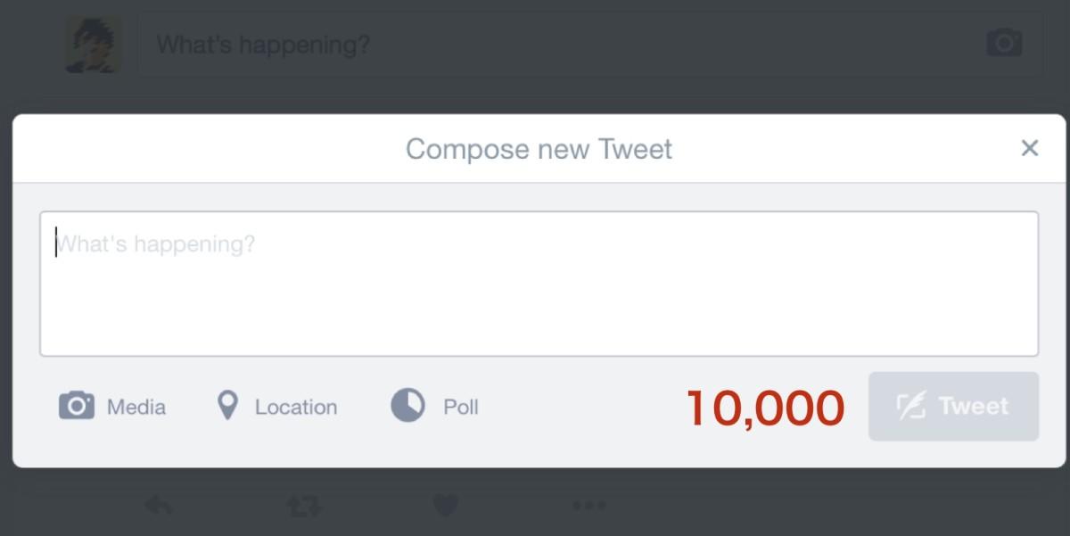 compose tweet site