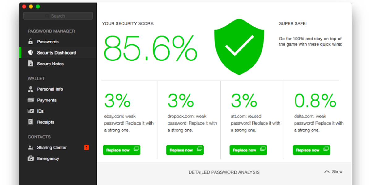 Dashlane's overhauled multi-platform password manager is now far easier on the eyes