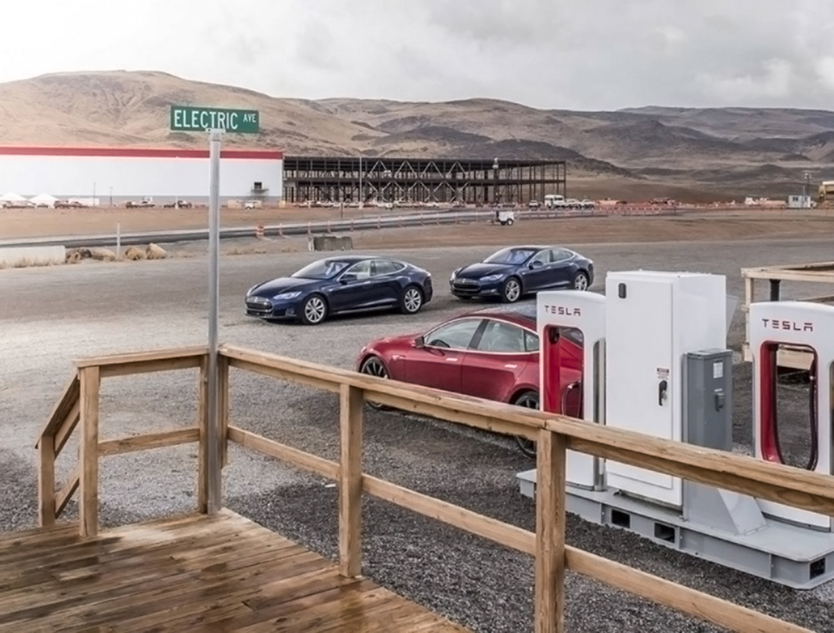 New images from inside Tesla's Gigafactory appear on Instagram
