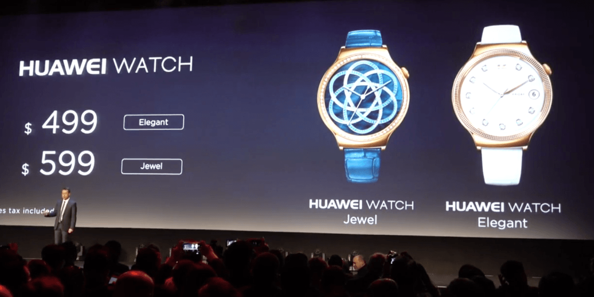 Huawei unveils a new line of blinged-out smartwatches to woo fashionistas