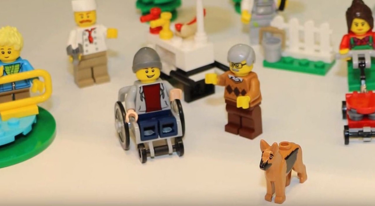 84 years later, Lego unveils its first minifigure in a wheelchair