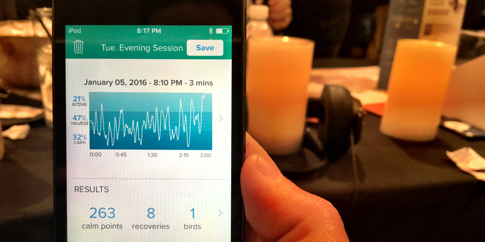 Muse is a headset and smartphone app to train your brain for better meditation