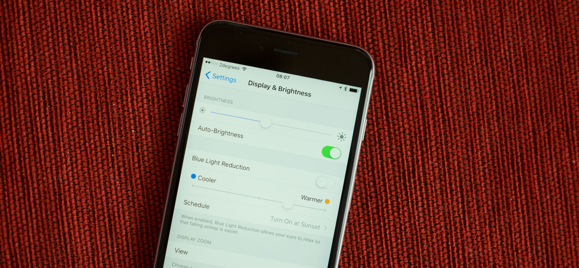 Your iPhone won't blind you at night thanks to this handy feature