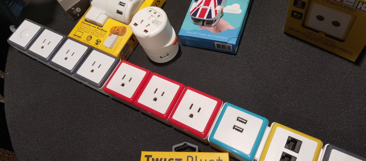 OneAdaptr's Stack lets you mix and match your surge protector like Lego