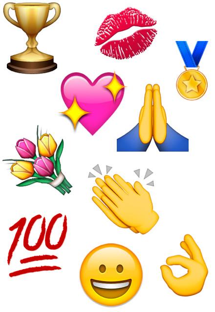 Praise emoji