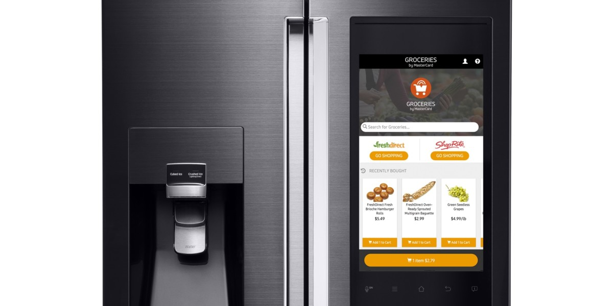 Samsung's new fridge has a built-in grocery store