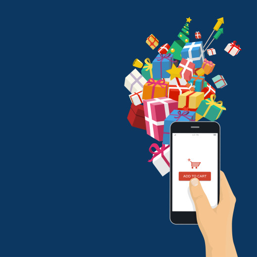 mobile holiday shopping online retail e-commerce